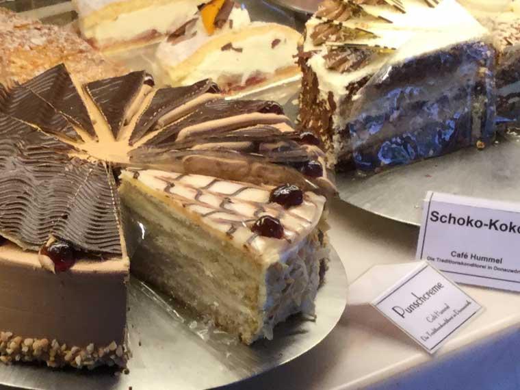 Café Hummel Torten und Kuchen